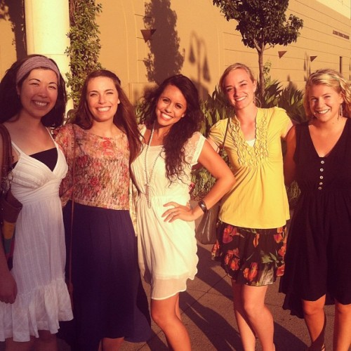 FOCUS fancy dinner! Love training with these ladies! :) (Taken with Instagram)