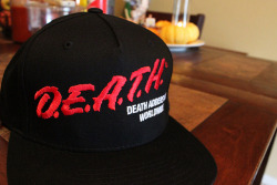 DEATH ADDERS on Flickr. My new Mishka hat that i ordered on plndr
