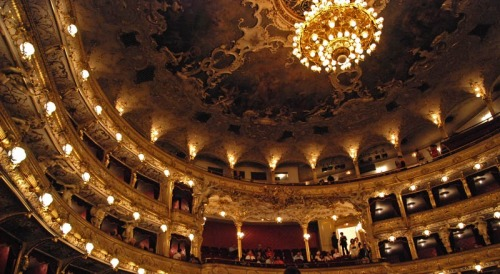 ancient-serpent:  Prague's State Opera  I need to go back to Prague and see more of the wonders within.