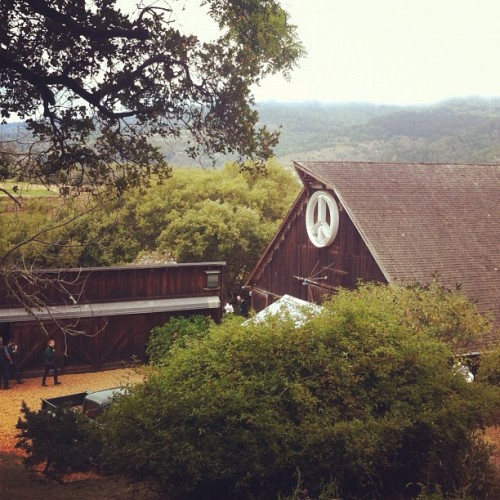 Gorgeous property in Bo! (Taken with Instagram at The Barn At Bolinas)