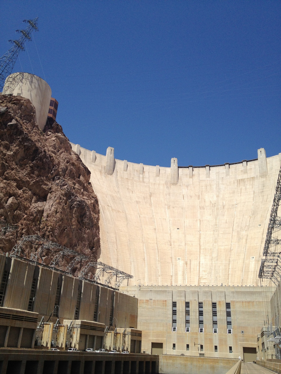 #deep #down in the ##hoover dam #water #nevada #arizona #