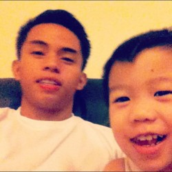 little amiel, most behaved! ;) (Taken with Instagram)