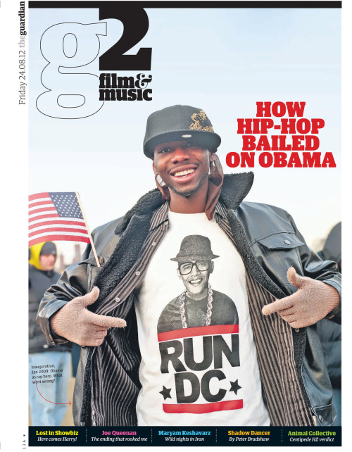 guardian:  How hip-hop fell out of love with Obama Barack Obama was once hailed as America's first hip-hop president. Why have so many rappers now given up on 'B-rock'? Photograph: Larry Marano/Getty Images