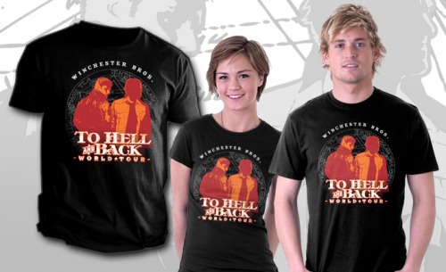 Hell & Back • TeeFury • $10 • 24 hours only!