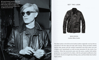 The Classics: Biker Jackets - Mr. Porter | Anchor Division All about that Rick Owens.