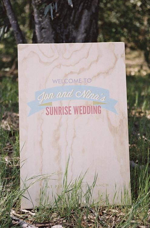 célébration mariage lever du soleil