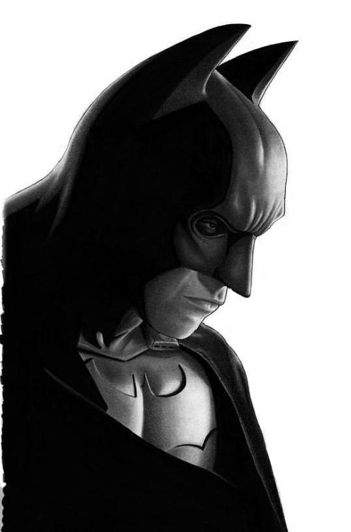 just-a-lone-wanderer:  Batman by ~DMThompson