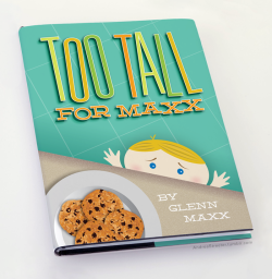 "andreastreeter:  ""Too Tall for Maxx,"" a children's book by Glenn Maxx. From this week's Comedy Bang Bang! I wonder if we need to take a break… Edit: FINALLY got the much sought-after Aukerman retweet! #legit"