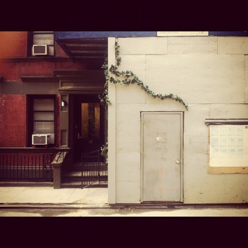 West Village mornings #westside (Taken with Instagram at Somewhere in W. Village )
