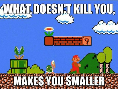 thefuuuucomics:  Super Mario`s Quote…