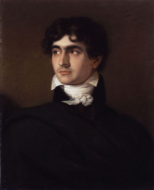 "forgesdevulcain:  John Polidori, inventeur du vampire moderne est mort le 24 août 1821. Cet anniversaire est l'occasion de se revenir sur son oeuvre la plus célèbre, ""Le Vampyre""  en compagnie de Nathalie Saudo-Welby. Texte disponible en ligne.    ""The Vampyre"" is a short story or novella written in 1819 by John William Polidori which is a progenitor of the romantic vampire genre of fantasy fiction. The work is described by Christopher Frayling as ""the first story successfully to fuse the disparate elements of vampirism into a coherent literary genre."""