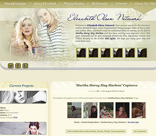 Check out our new site about Elizabeth Olsen! e-olsen.com e-olsen.com e-olsen.com