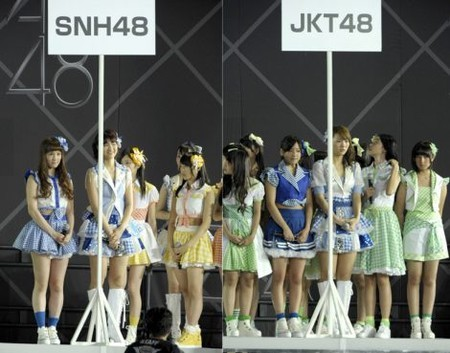 airinnoasobi:  SNH48 and JKT48 new members