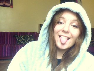 So snug in my dressing gown :3