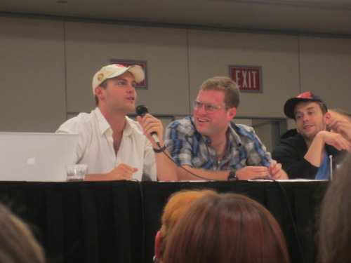 Here are my photos from the Starkid LeakyCon Panel (August 12th, 2012)
