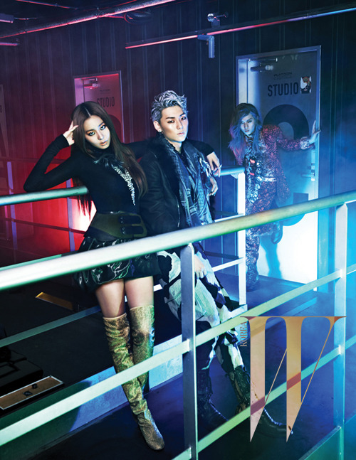 UEE & NU'EST's Minhyun and Ren on 'W Korea'