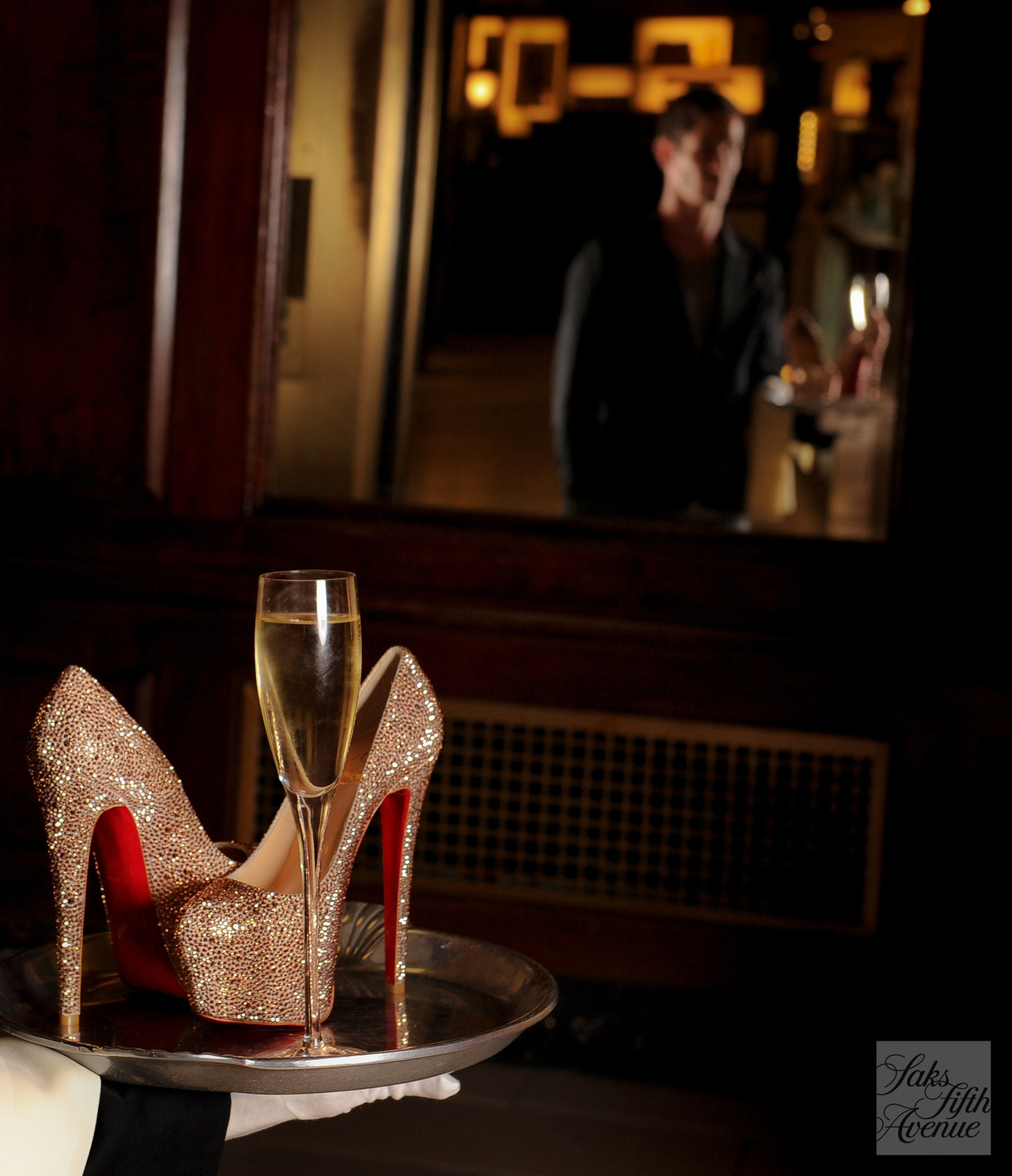 Be our guest. The new 10022-SHOE is full service! (Christian Louboutin)Photo by KSW