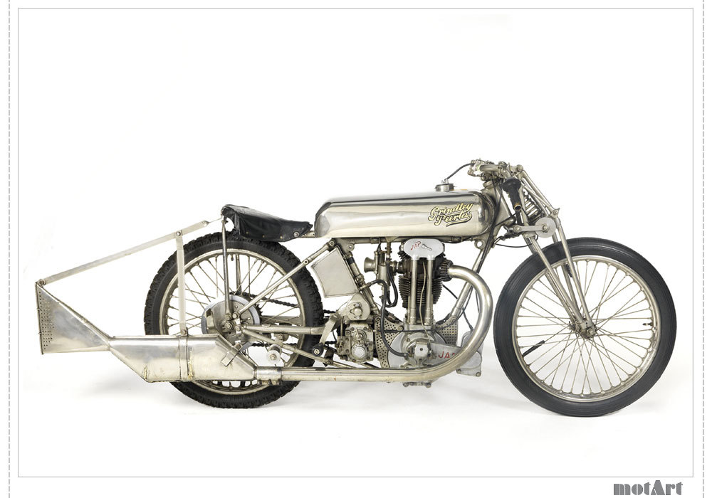 "1929 Grindlay-Peerless, Brooklands ""Hundred Model."" (via Motart)"
