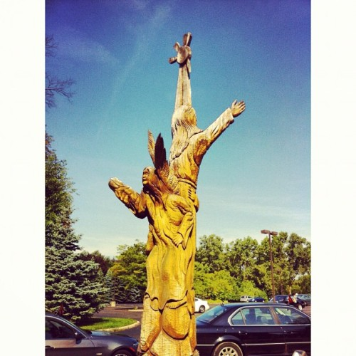 Immaculate chainsaw conception (Taken with Instagram)
