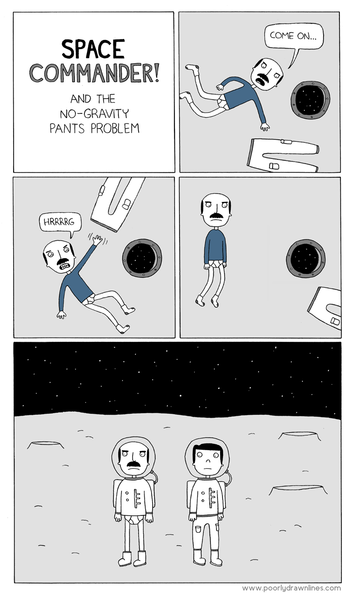 wilwheaton:  (via Poorly Drawn Lines – Space Commander)