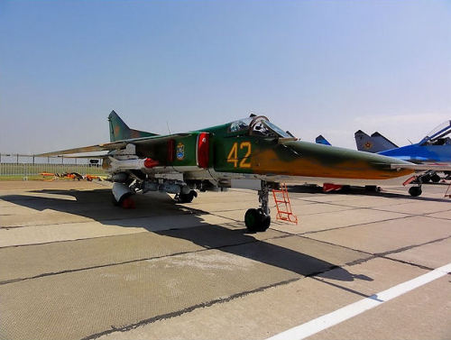 Kazakh Air Force MiG-27 Flogger