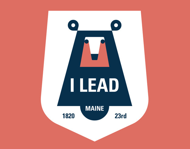 Maine State Motto by Josh Brill