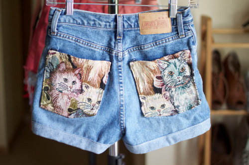gabbysworld:  Kitty shorts ! ♥