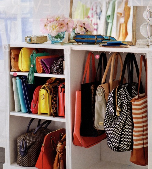 prettyworld:  Perfect bag situation.