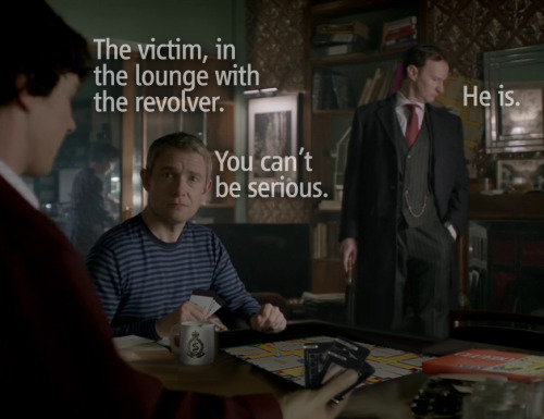 barachiki:  Mycroft has played board games with Sherlock before.