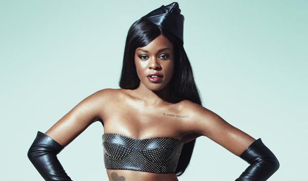 Looks like Azealia Banks Gets Her Own M.A.C. Cosmetics Lipstick Color in Yung Rapunxel.  The dark plum color totally matches her style and think may be a new addition to my fall/winter lip color selection.   Image via @MACCosmetics on Twitter and header image via Vibe It looks great on paper.  Can't wait to see how it looks on my lips!  When I go out to get my own will definitely post. Just in case you're not sure who Azealia Banks is…   Related articles Top Picks for Summer Makeup (amuseboucheblog.com) Tarte LipSurgence Lip Luster in Frisky (amuseboucheblog.com) Karl Lagerfeld created Mon Shu character for Shu Uemura (amuseboucheblog.com)