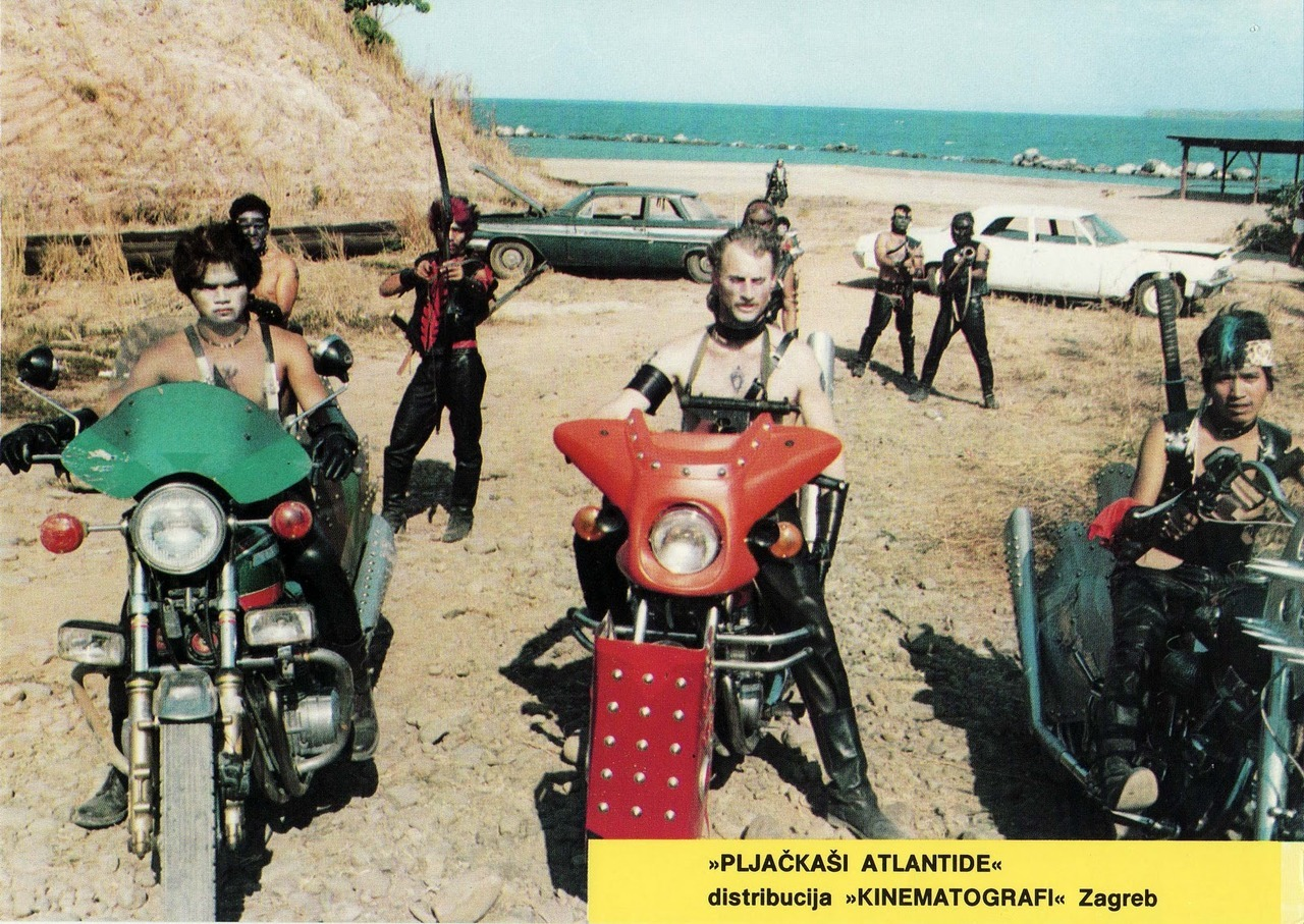 The Raiders of Atlantis (aka Atlantis Interceptors), Croatian lobby card. 1983 Source: FuturoFinale2008