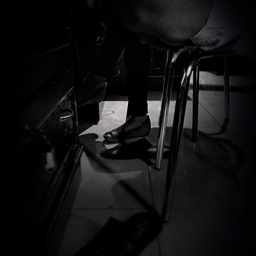 San-Sit-di-ti #foot | #blackandwhine #bw (Taken with Instagram at Gending Futsal)