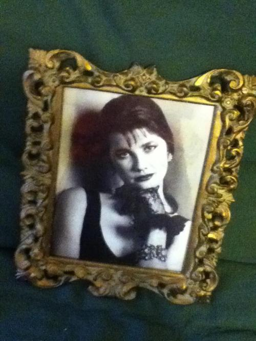 My boyfriend framed this amazing daphne zuniga headshot for me for our anniversary. True Love