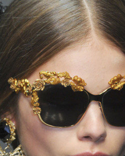 margielas-maison:  Is this from the dolce & gabbana show