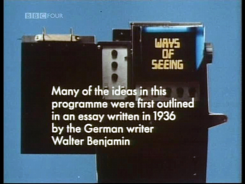 John Berger / Ways of Seeing (1972)