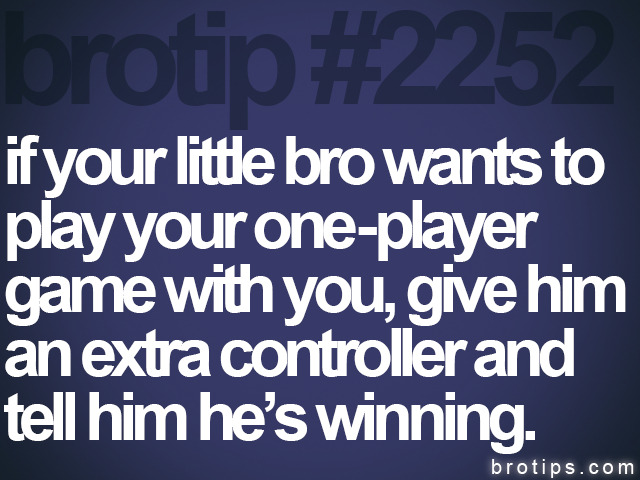 Some really good advice for big brothers