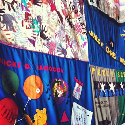 Home of The NAMES Project - 2362 Market Street: AIDS Memorial Quilt (Taken with Instagram)