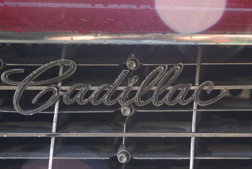 chromeography:  1961 Cadillac Convertible Series 62 (Owner: Richard Jack Jr., Photo by Mary Jane Protus in August 2012)