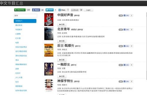 NetStarTV is a video streaming site with many Chinese TV shows and Movies