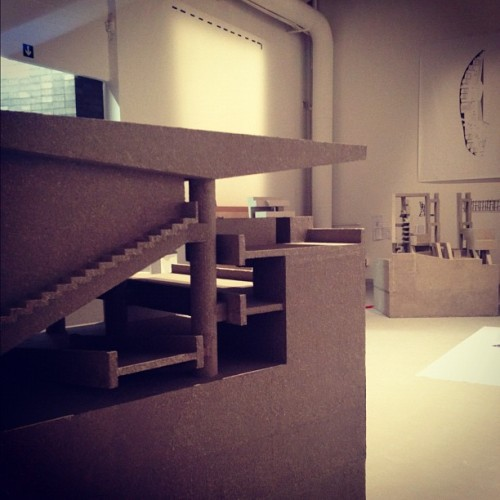 Eduardo Soto de Moura Exhibit at #labiennale #architecture #archdaily  (Taken with Instagram at Central Pavillion @ La Biennale)