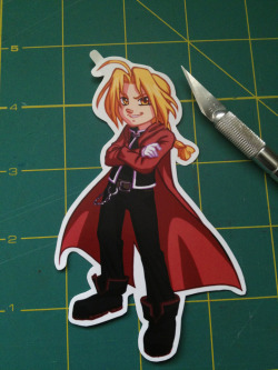 The first sticker for Tsubasacon has been cut!