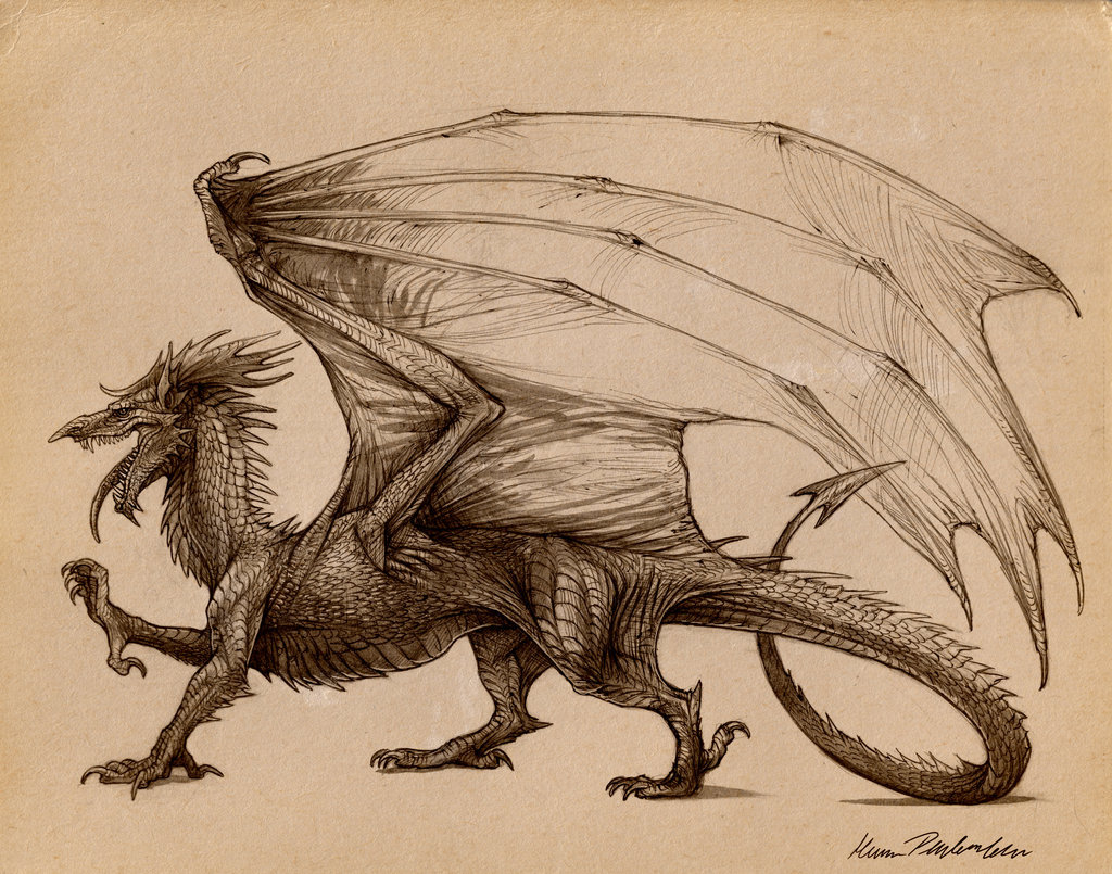 After Y Ddraig Goch by *KatePfeilschiefter
