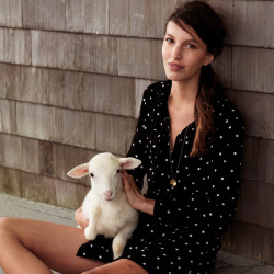 madewell:  Fall is so close. We suggest getting inspired by these very autumnal Looks We Love, starring our Artdot Novelist Shirtdress and a furry friend named Snowflake.