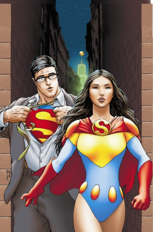 Did someone ask for a Clark/Lois fix? And if not, why not?! Lois <3 Frank Quitely's cover for All-Star Superman #3