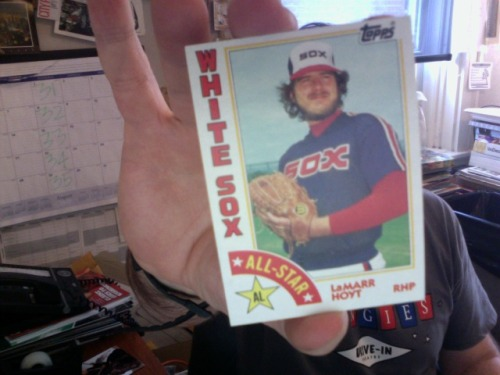 TODAY'S BASEBALL CARD