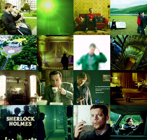 Sherlock Meme→Three Colors, Green