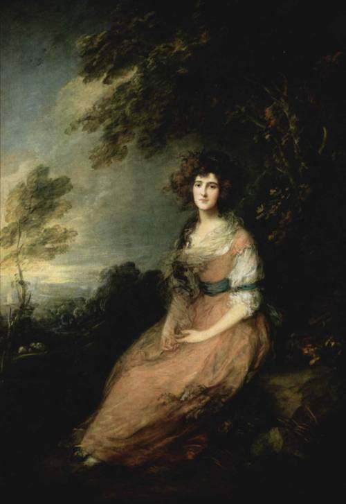 Mrs. Richard Brinsley Sheridan, Thomas Gainsborough