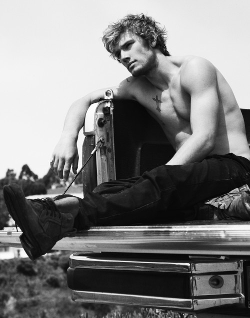 Alex Pettyfer by Greg Harris