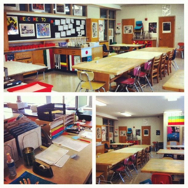 My classroom is ready to go for Monday! Monday only 6th graders come to school, and I only have 6th graders last period, so I get another day to work.   I already know I won't be able to sleep on Sunday, I'm so excited!