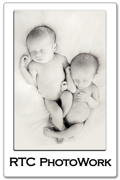 RTC PhotoWork: Fort Worth Haltom City Newborn Baby Twins Multiples Photographer Baseball